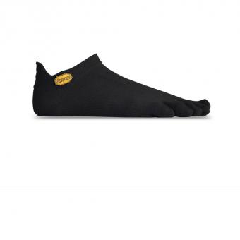 FiveFingers Vibram No Show Zehen  Socken Black