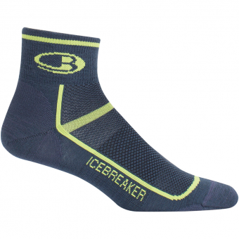 Icebreaker Multisport Ultralight Mini  Socken Oil / Citron Herren