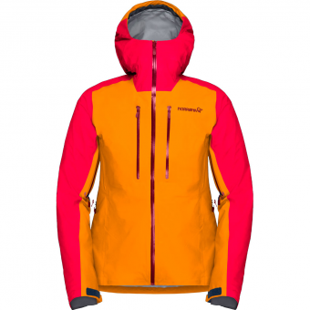 Norrøna Lyngen GTX®  Hardshelljacke Orange Crush Damen