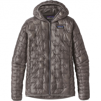 Patagonia Micro Puff® Hoody  Insulation Jacket Feather Grey Women