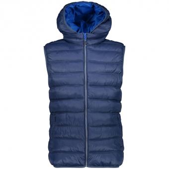 CMP Zip Hood  Vest Inchiostro Men