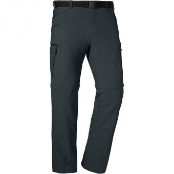 Schöffel Kyoto2  Zip-Off Pants Charcoal Short Men
