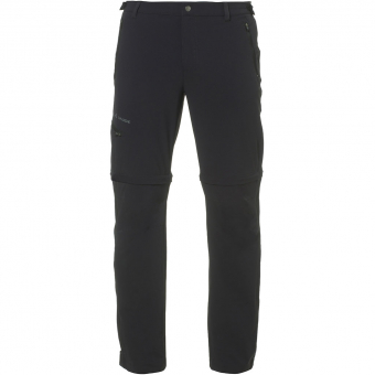 Vaude Farley Stretch II T-Zip Long  Zip-Off Pants Black  Men