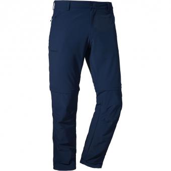 Schöffel Folkstone   Zip-Off Hose Dress Blue Regular Herren