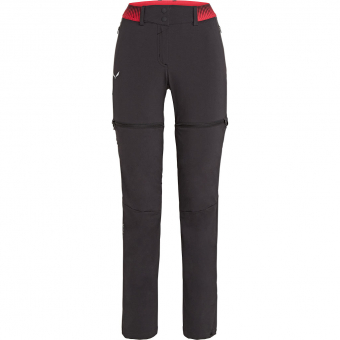 Salewa Pedroc DTS 2/1  Zip-Off Pants Black Out Women