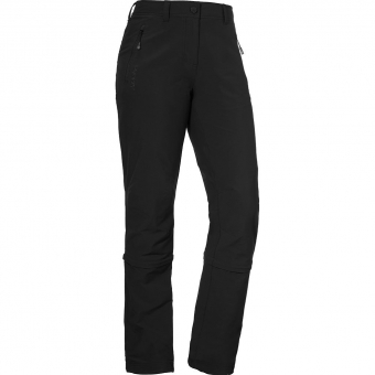 Schöffel Engadin  Zip-Off Pants Black Women