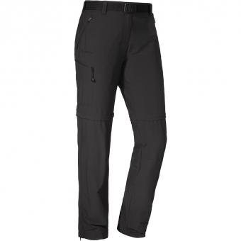 Schöffel Cartagena2  Zip-Off Pants Black Regular Women