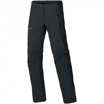 Vaude Farley Stretch (Short)  Zip-Off Hose Black Damen
