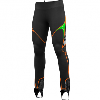 Crazy Idea Repeat  Hose Black / Green Herren