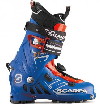 Scarpa F1 EVO Limited  Tourenskischuh Speed Blue Herren