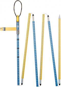 Pieps Aluminium 260 cm  Sonde Blau / Gelb