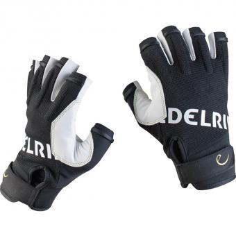 Edelrid Work Glove Open  Klettersteig-Handschuh Snow
