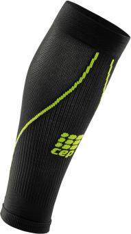 CEP Progressive+ Compression Calf 2.0  Beinlinge Black/Green Herren