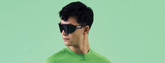 Alpina Fahrradbrille Sportbrille Sonnenbrille Brille KOSMIC black matt