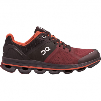 ON Cloudace Runningschuh Ruby/Lava Damen