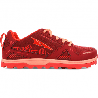 Altra Youth Lone Peak Runningschuh Poppy Kinder