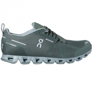 ON Cloud Waterproof Runningschuh Forest / Lunar Herren