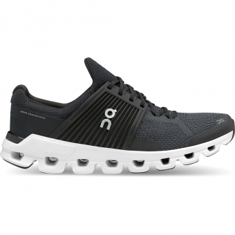 ON Cloudswift Runningschuh Black/Rock Herren