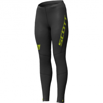 Scott RC Run Full Tights Black-Yellow Women