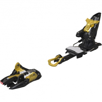 Marker Kingpin 10 incl. Stoppers Alpine Touring Bindings Black Gold