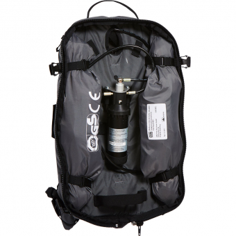 ABS S-Light Base Unit Compact Avalanche Backpack (without Cartridge) Saison 18/19 Rock Grey