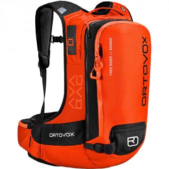 Ortovox Free Rider 22 Avabag  Lawinenrucksack (ohne Kartusche)  Crazy Orange