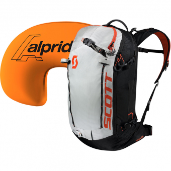 Scott Patrol E1 30 Lawinenrucksack Black /Tangerine / Orange