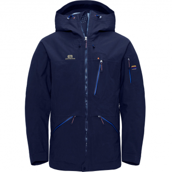 Elevenate Backside Hardshelljacke DK Navy Herren