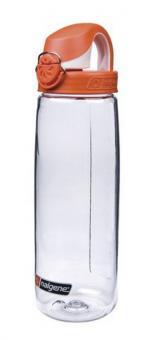 Nalgene Everyday OTF 0,7 L  Bike Flasche Transparent/Orange