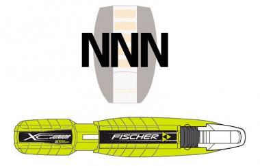 Fischer XC R3 Schraub Junior Classic NNN  Langlaufbindung Kinder