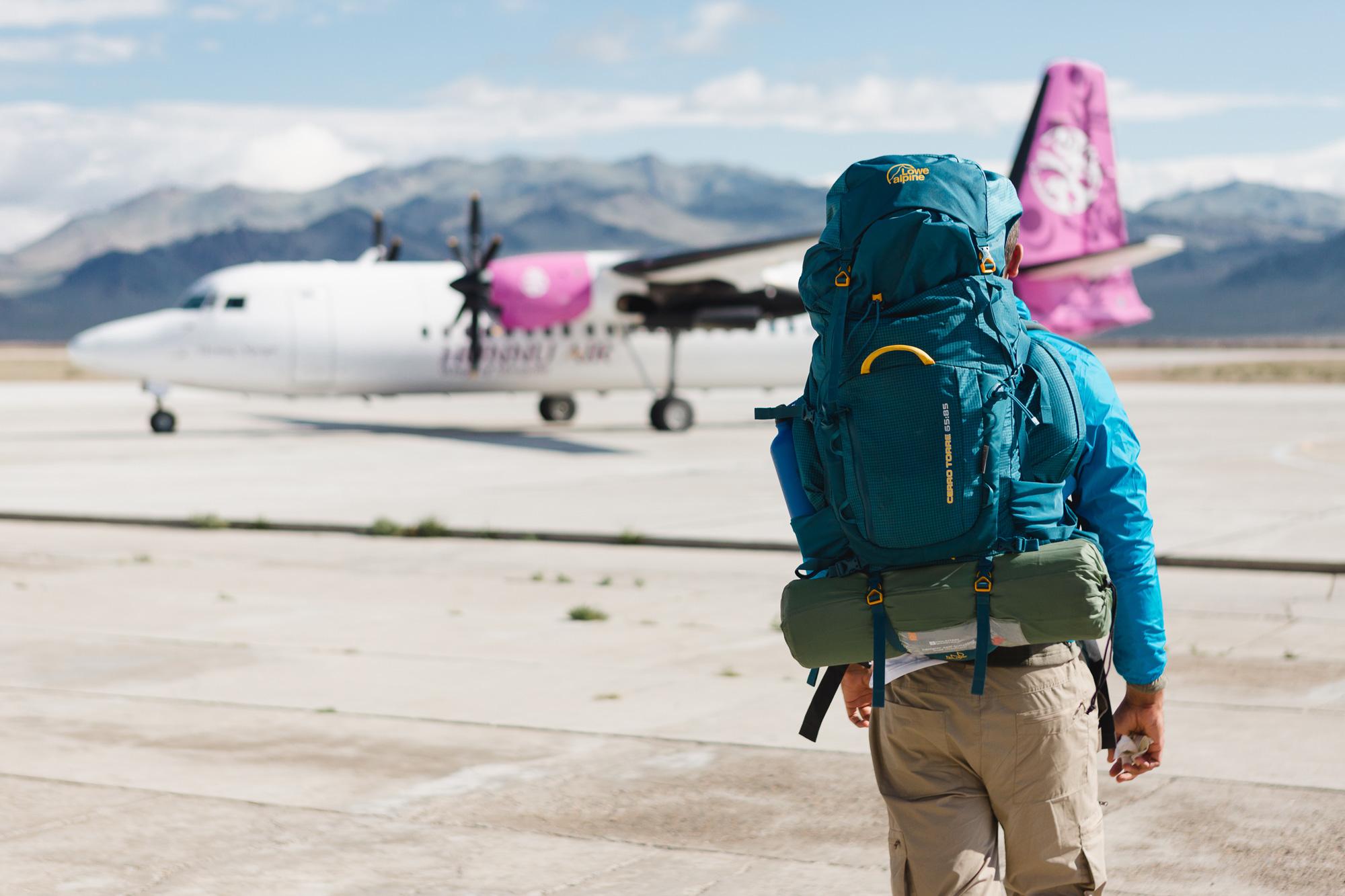 Reisen mit dem Rucksack