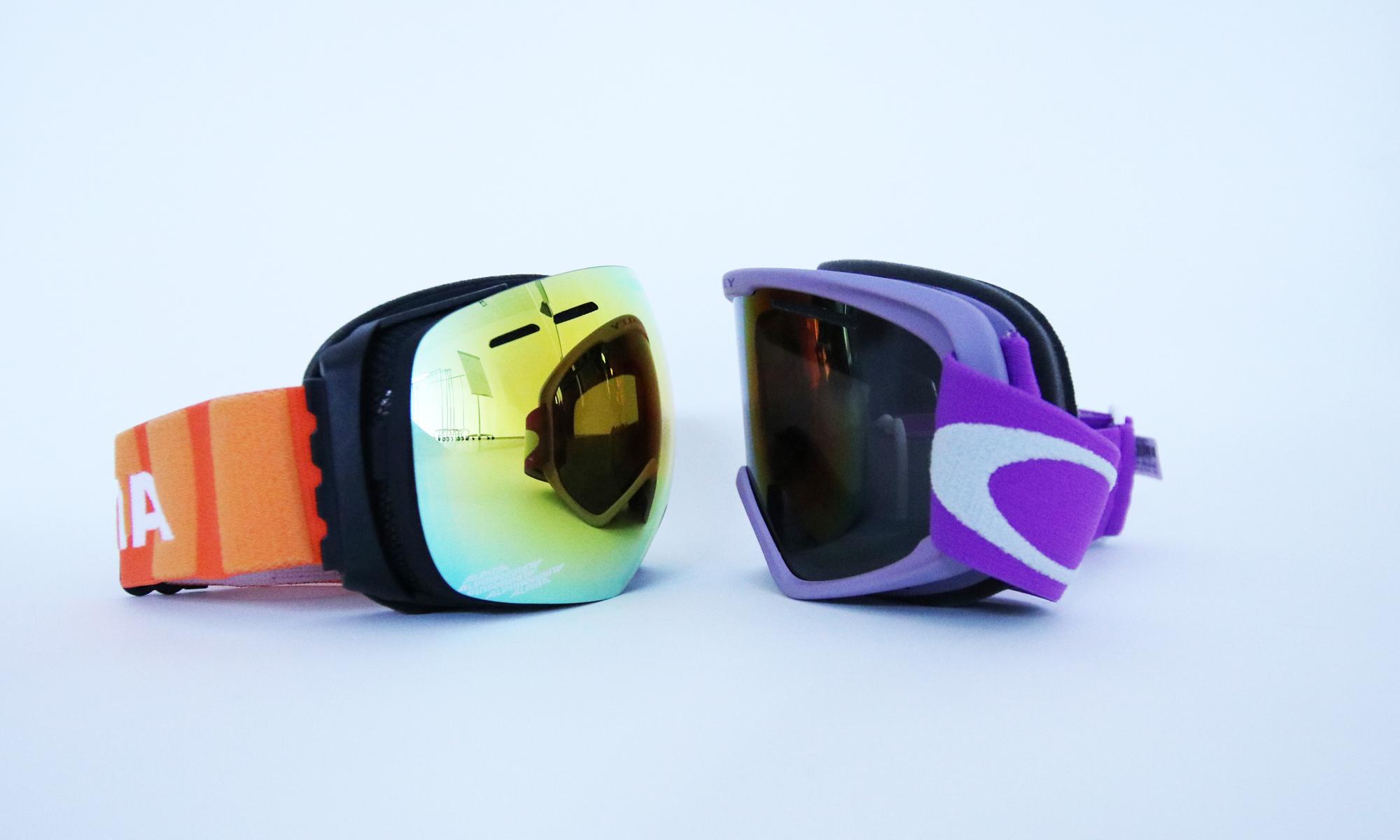 zylindrische und sphärische Skibrillen