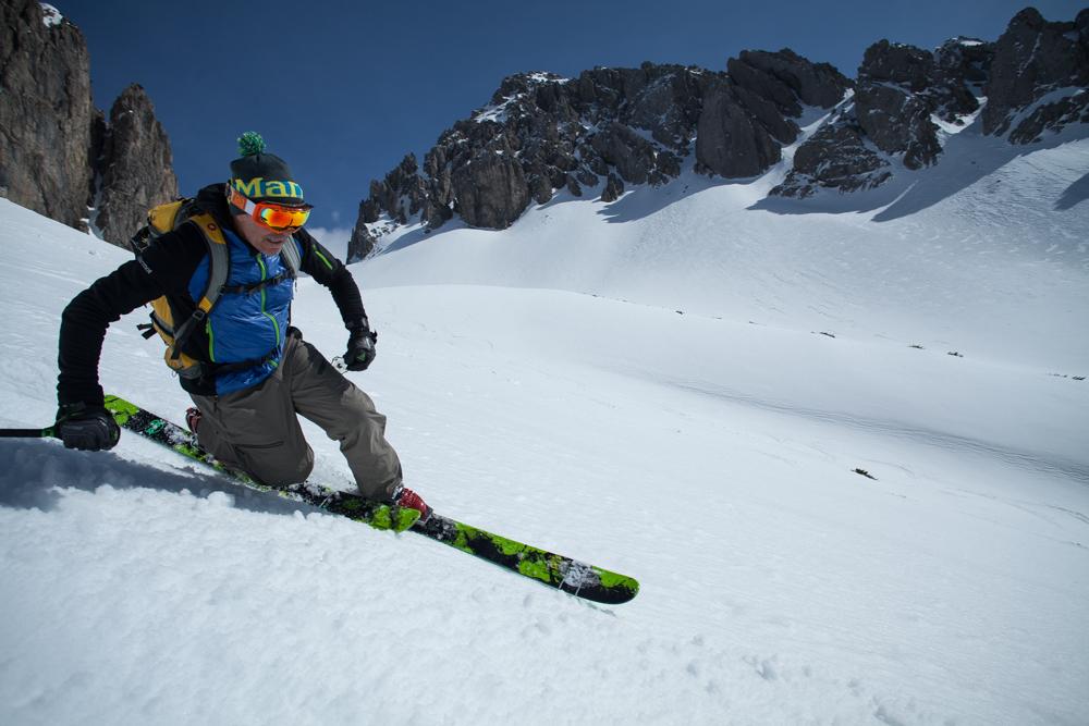 Telemark ski tour
