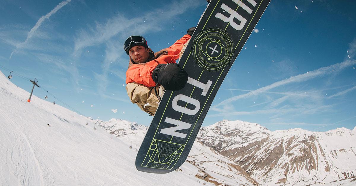 Snowboard groß