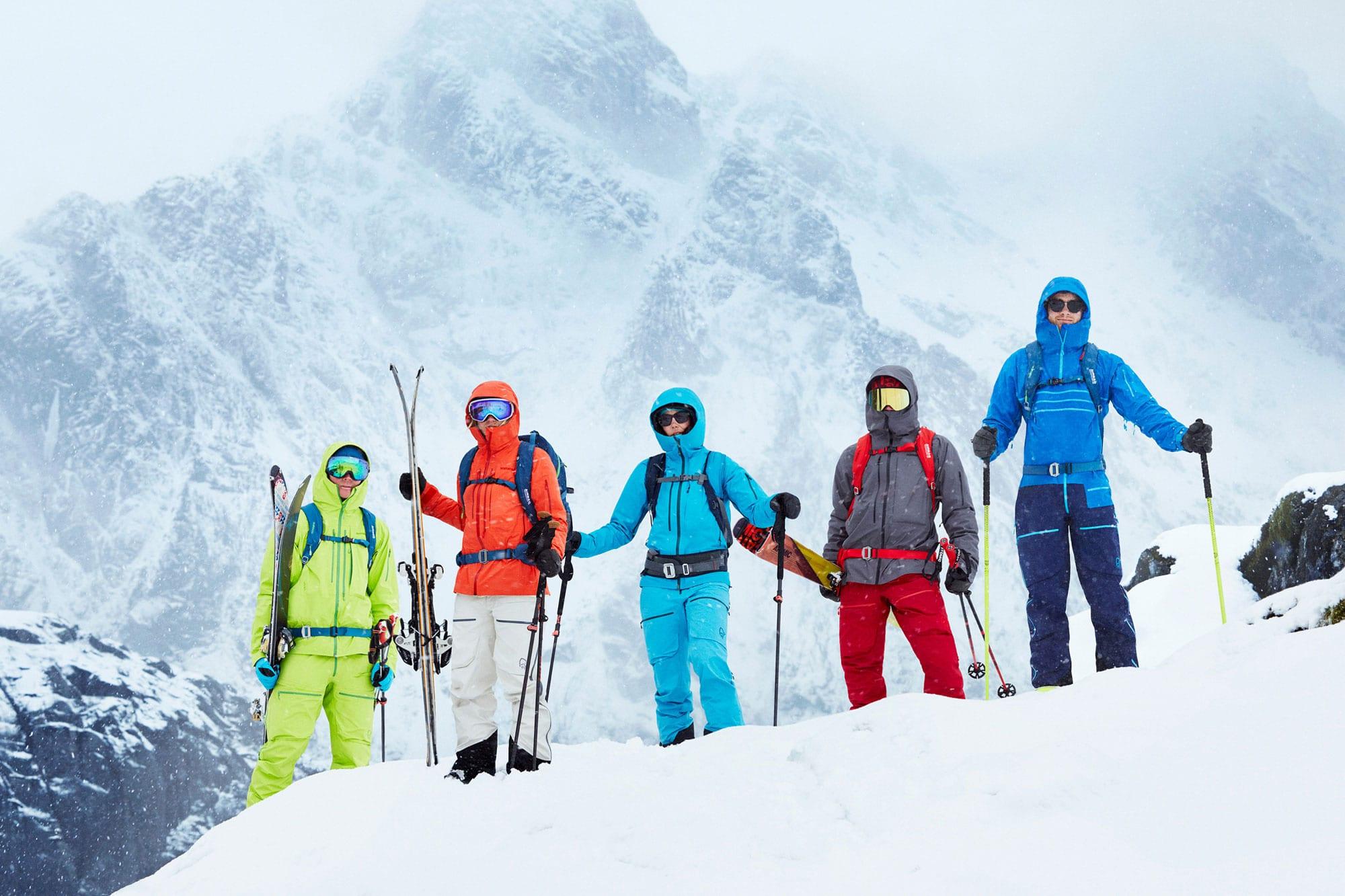 Lofoten Skiing