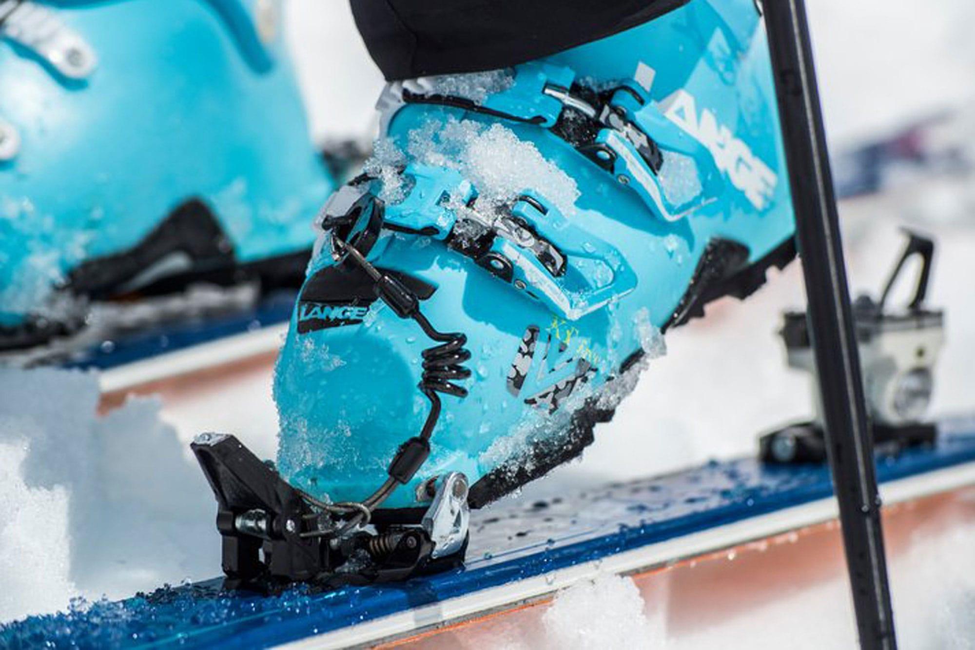 Dynastar Ski und Lange Schuh Closeup