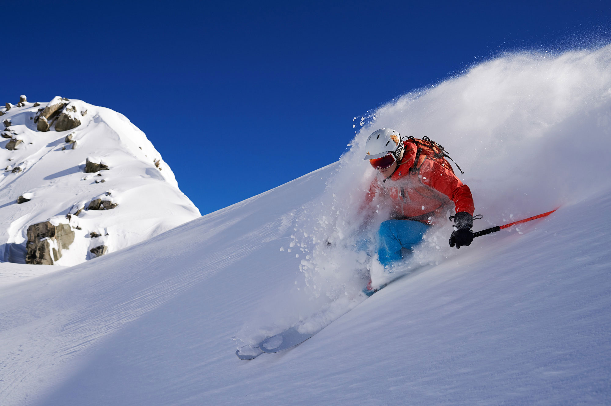 Skitourenabfahrt