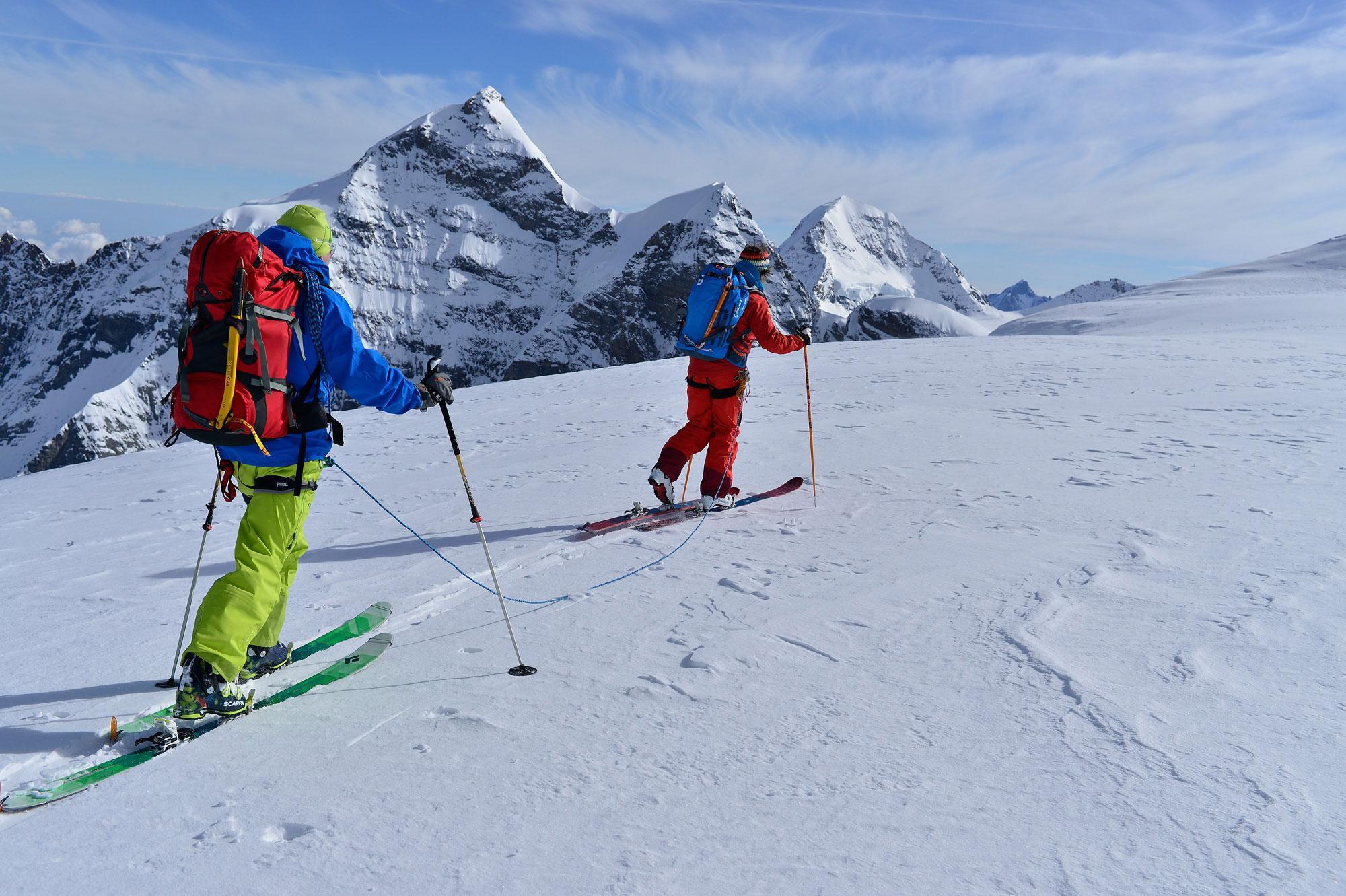 Skitourenaufstieg