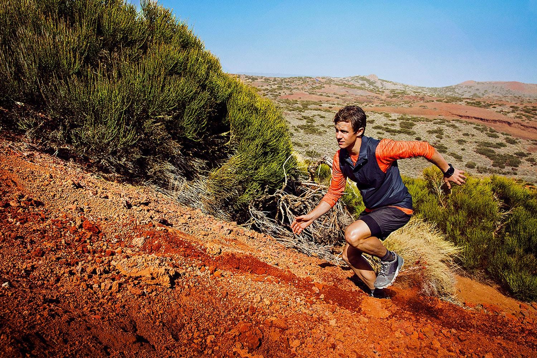 Sports watch when running
