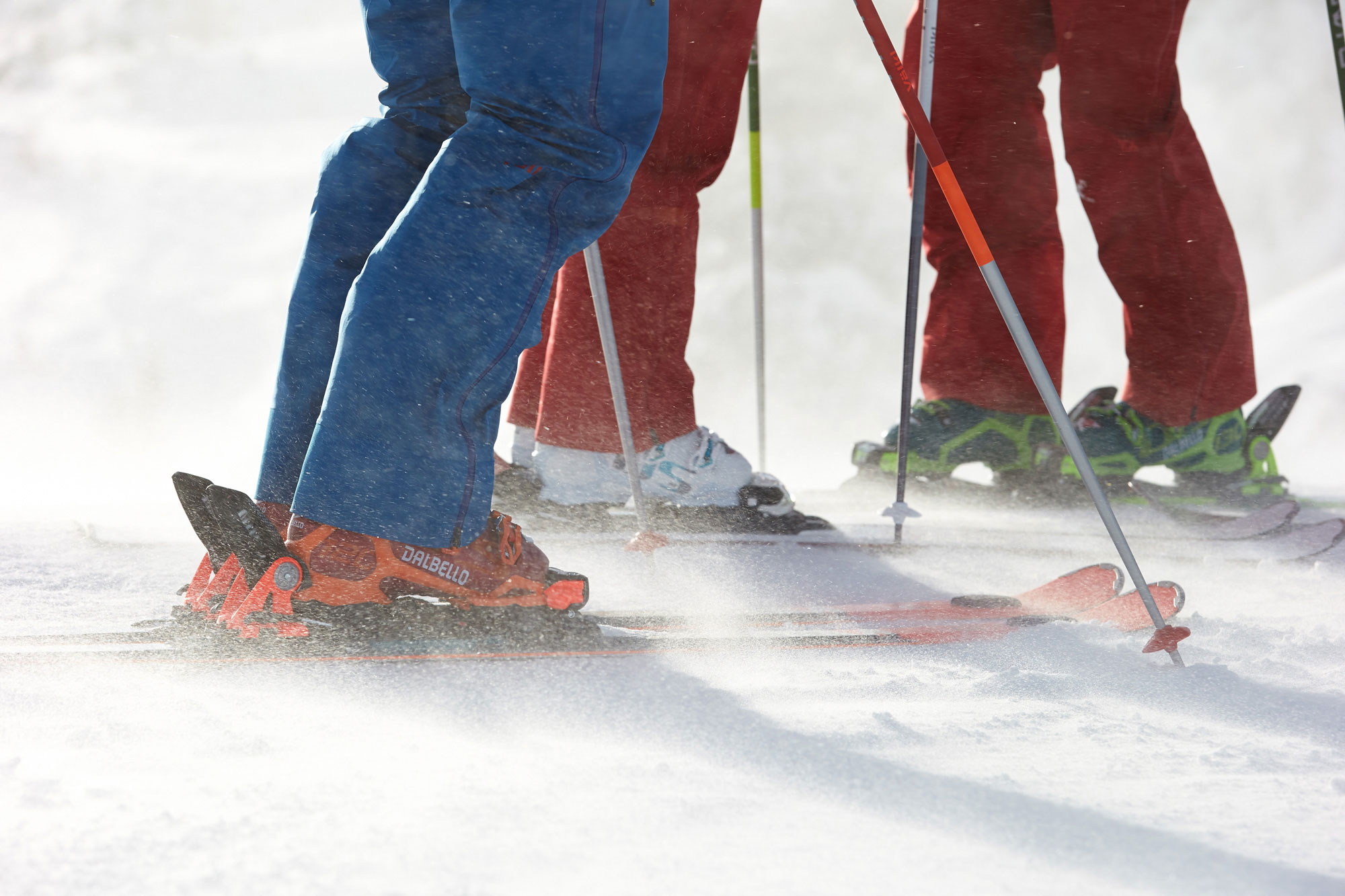 Ski Closeup with Dalbello Ski Boot